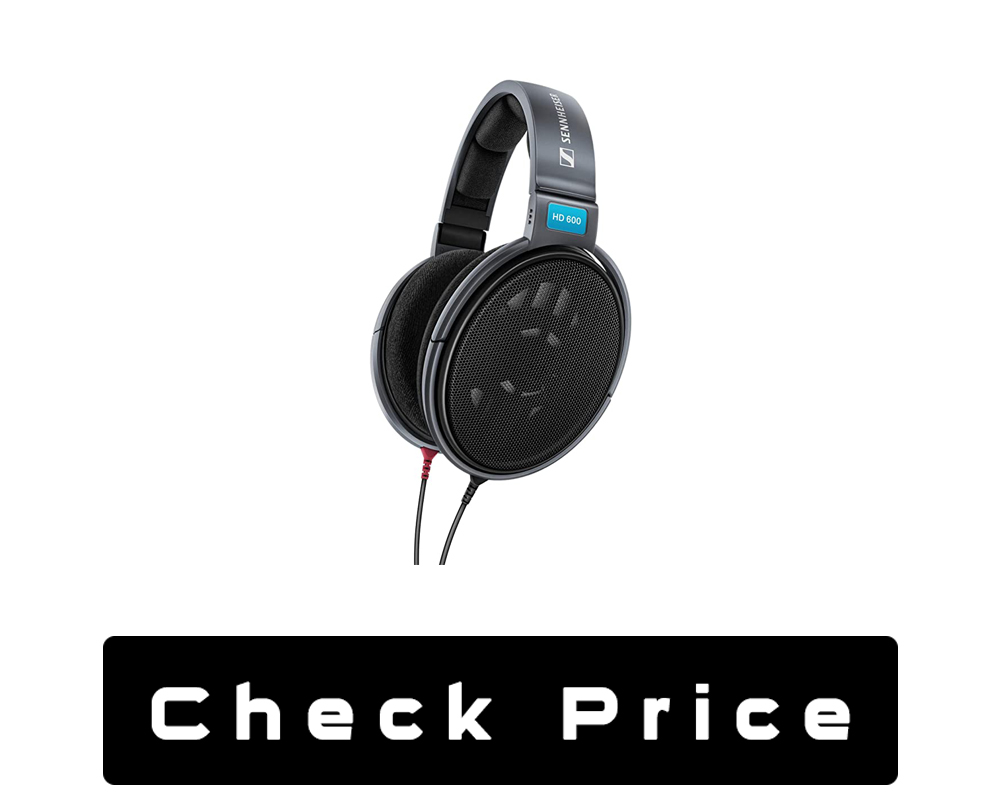 Sennheiser HD 600 Open Back Professional Headphone For Classical Music