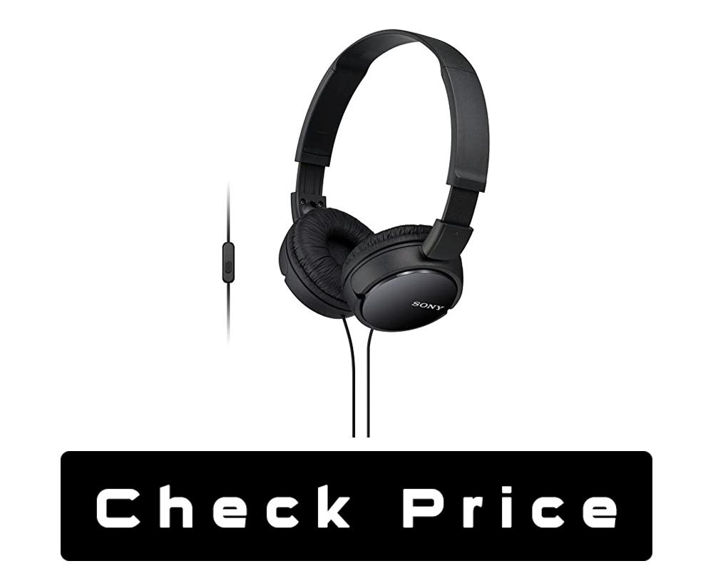 Sony MDRZX110AP ZX Series Extra Bass Headphone