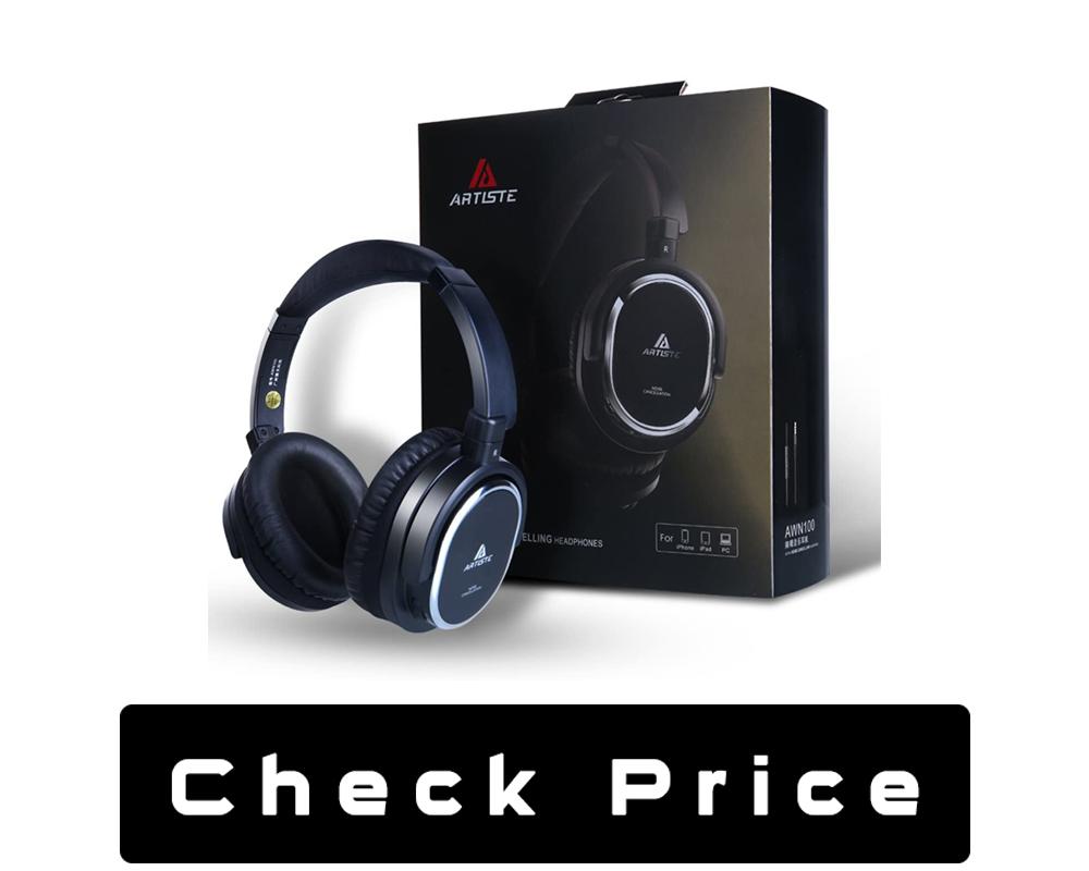 Artiste ANC100 Active Noise Cancelling Headphones