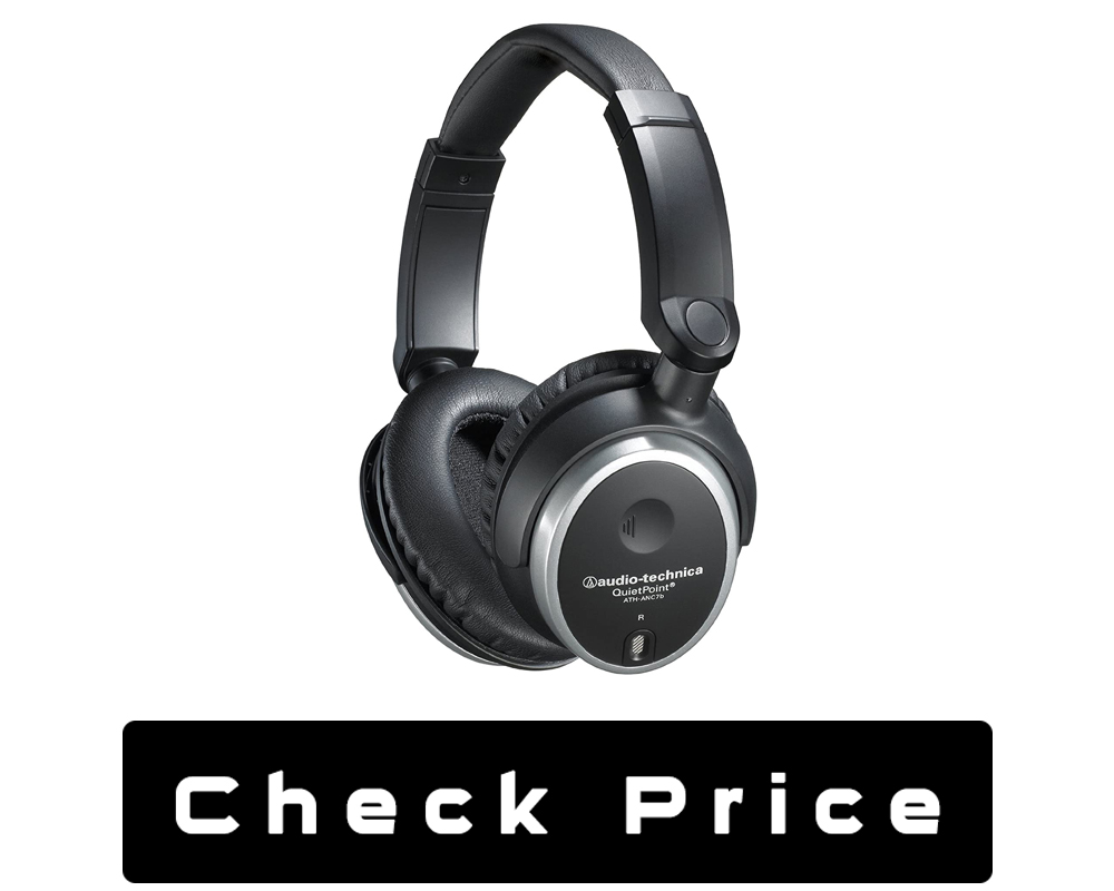 Audio-Technica ATH-ANC7B QuietPoint Active Noise